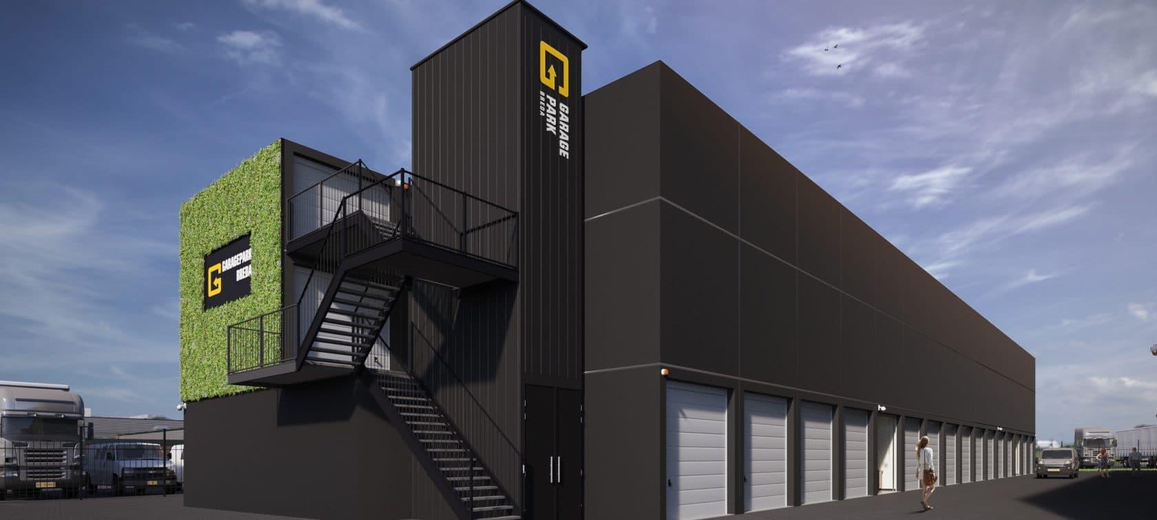 GaragePark Breda - 3D impressie