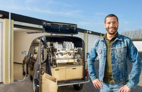 Foodtruck stalling - beveiligde stalling garagebox - GaragePark
