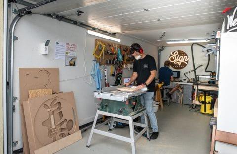 GaragePark - werkruimte 2nd layer