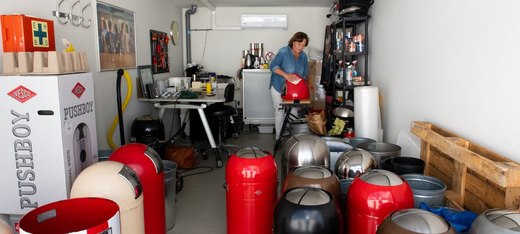 GaragePark opslag- en werkruimte - Garageboxen