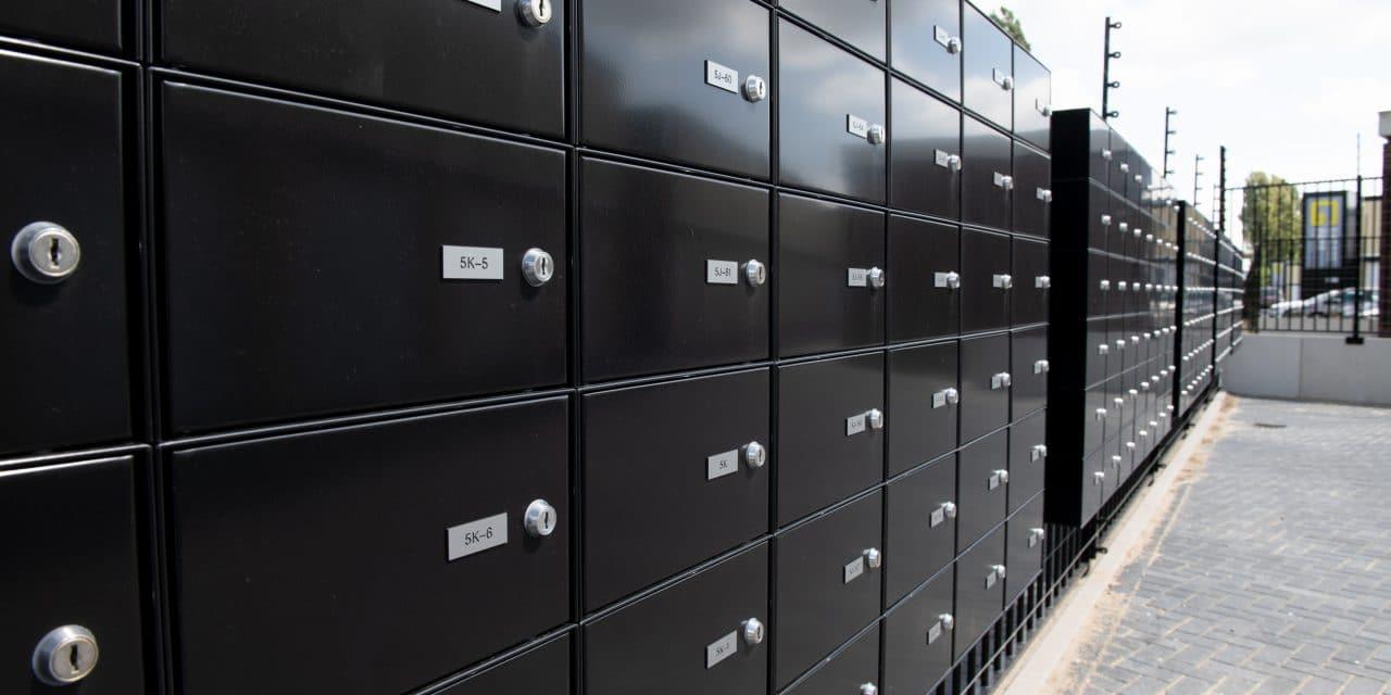 GaragePark brievenbussen - Garageboxen