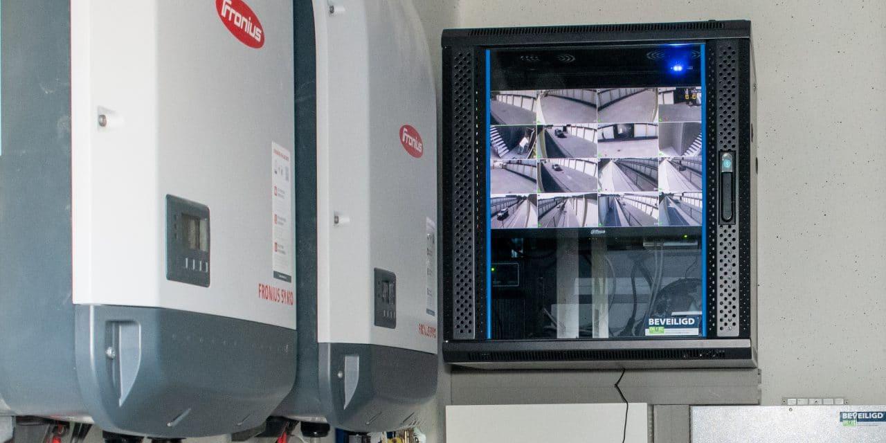 24-7 camerabeveiliging - garageboxen van GaragePark