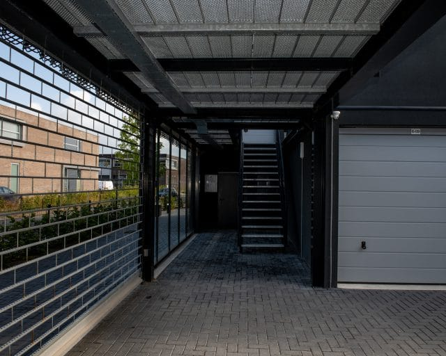 GaragePark - garageboxen - veiligheid - hekwerk
