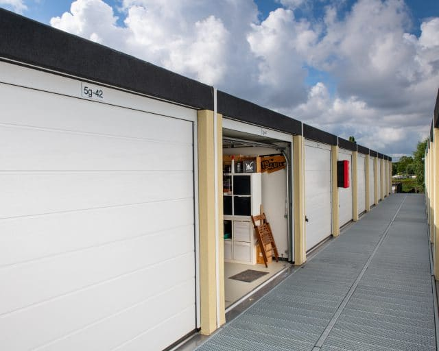 GaragePark - etage garageboxen