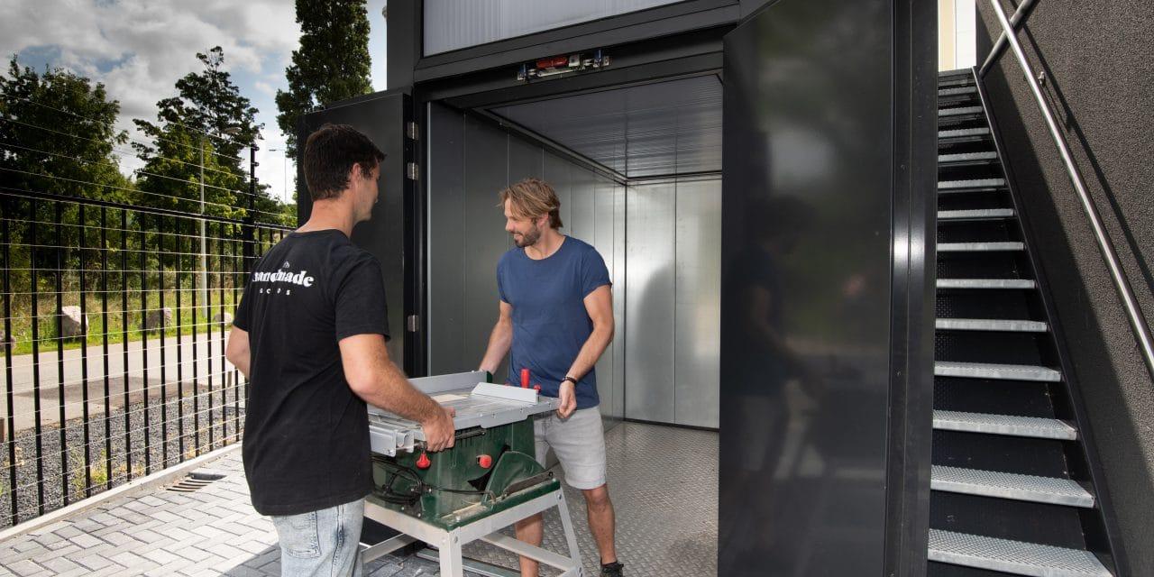 GaragePark goederenlift - Garageboxen