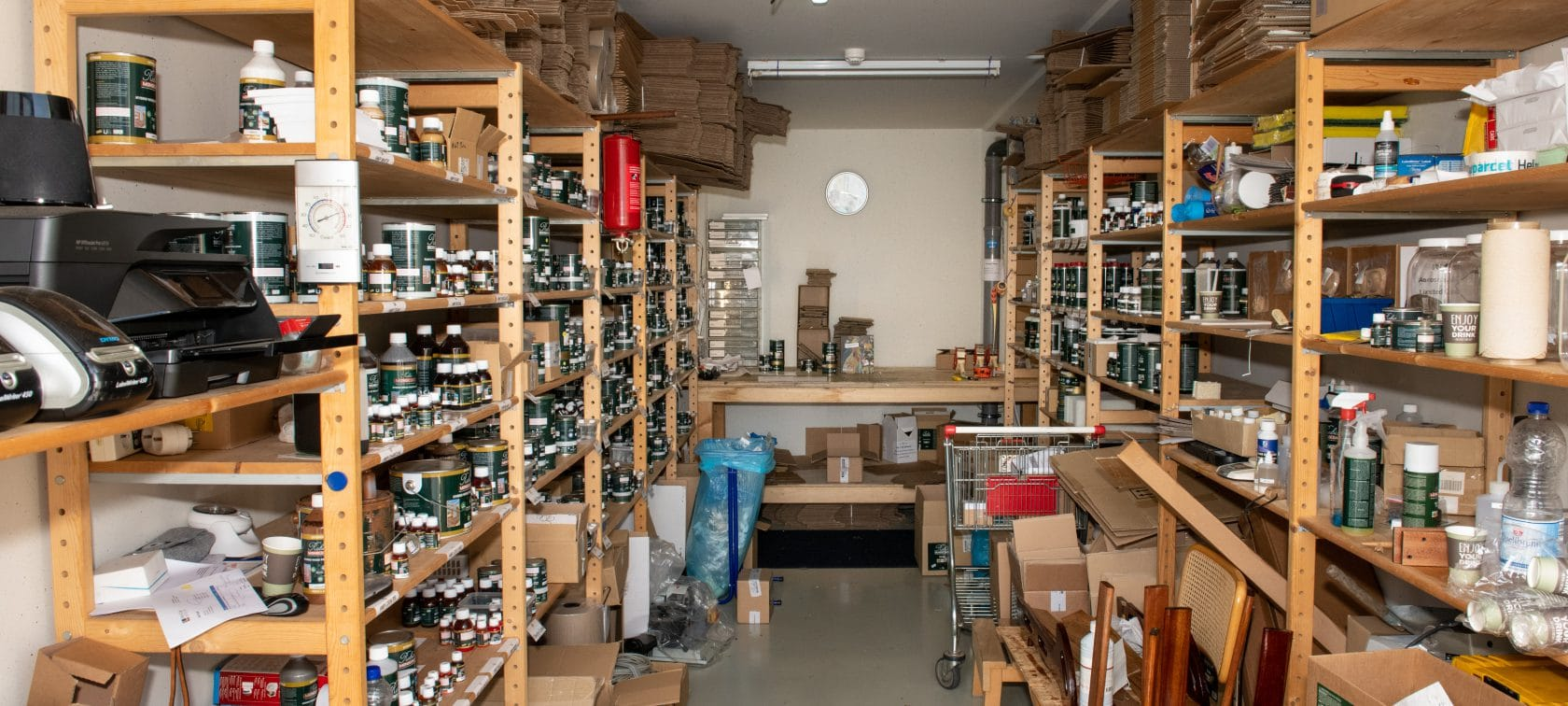Magazijn webshop - opslagruimte garagebox - GaragePark