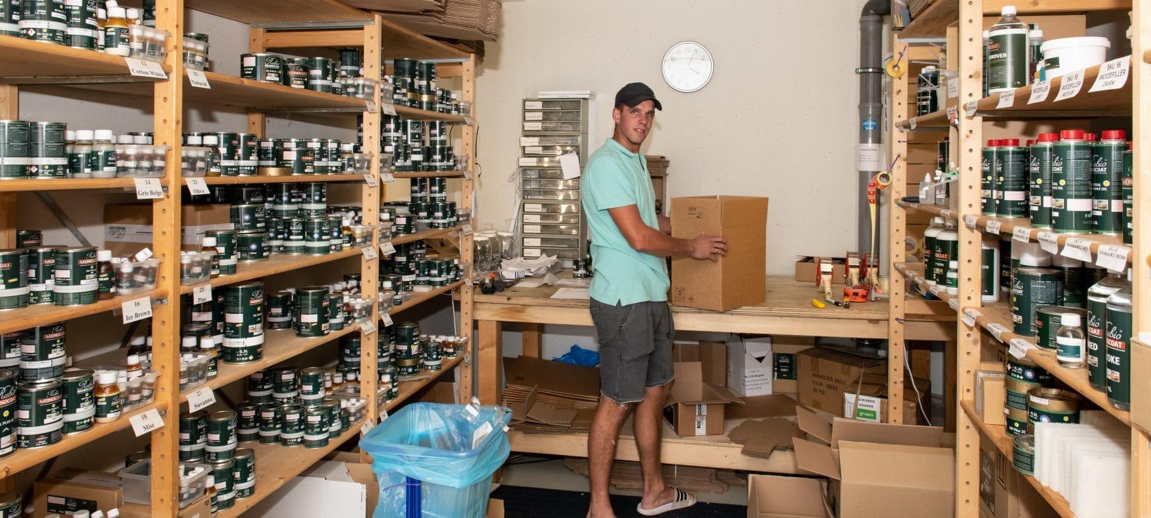 Magazijn webshop - opslagruimte garagebox - GaragePark(4)
