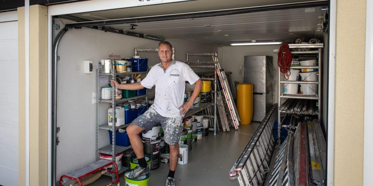Opslag- en werkruimte voor schilder - GaragePark