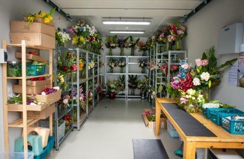 Opslagruimte - bloemen - garagebox - GaragePark(1)