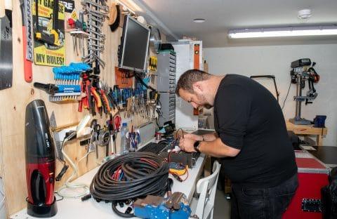 Werkplaats geluidstechnicus - Music Production Support - Garagebox van GaragePark