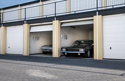 autostalling - beveiligde garagebox voor je auto - GaragePark