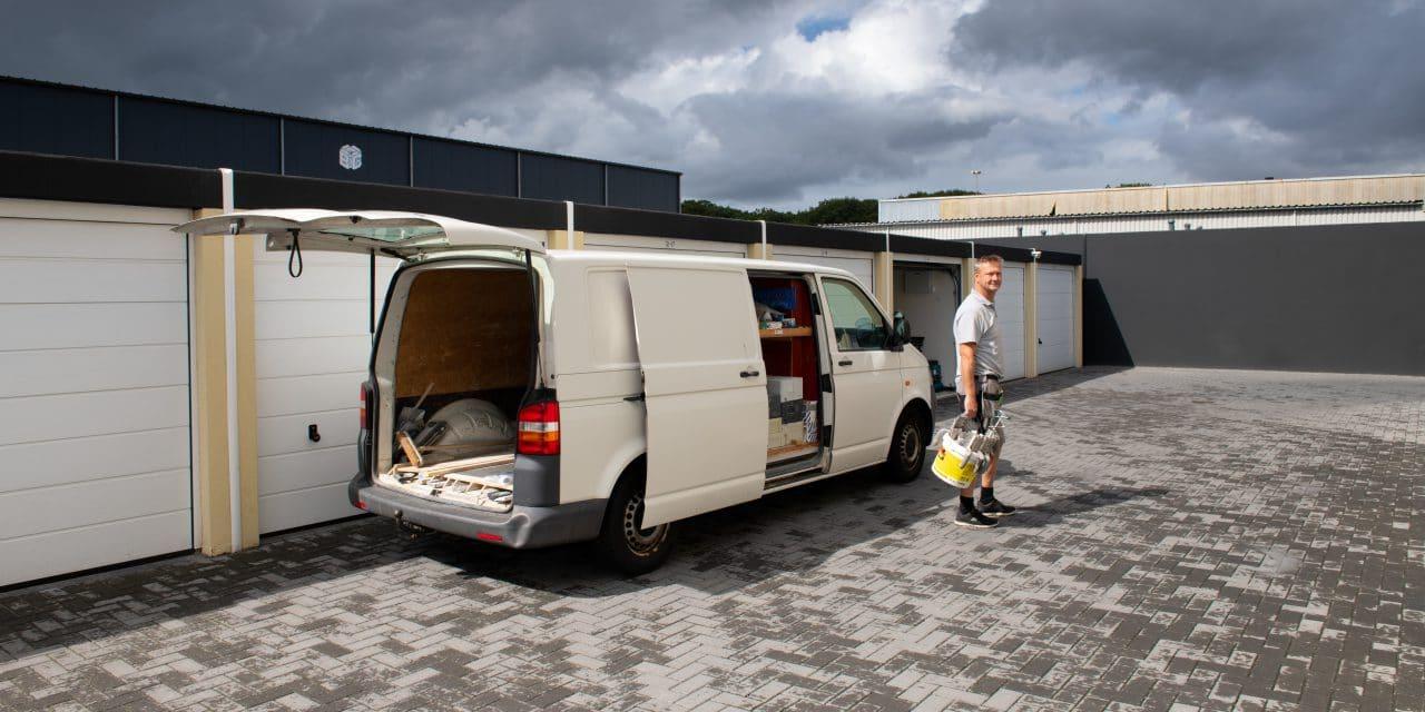 ruimte voor bouwbedrijf - Koffrie Montage - garagebox GaragePark