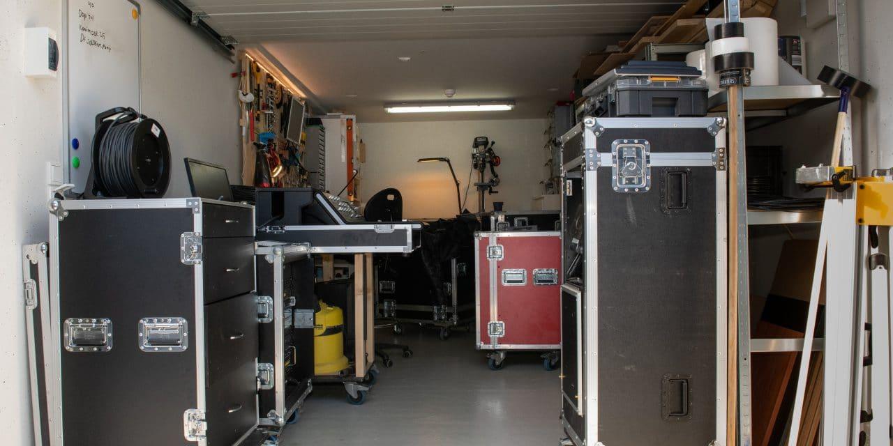 verdiepingsbox etagebox DJ geluidsystemen - Garagebox van GaragePark (2)