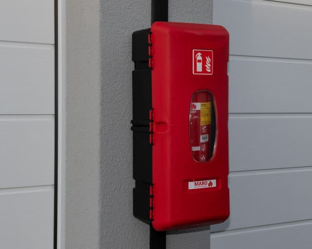 GaragePark Rotterdam Hordijk - brandblusser