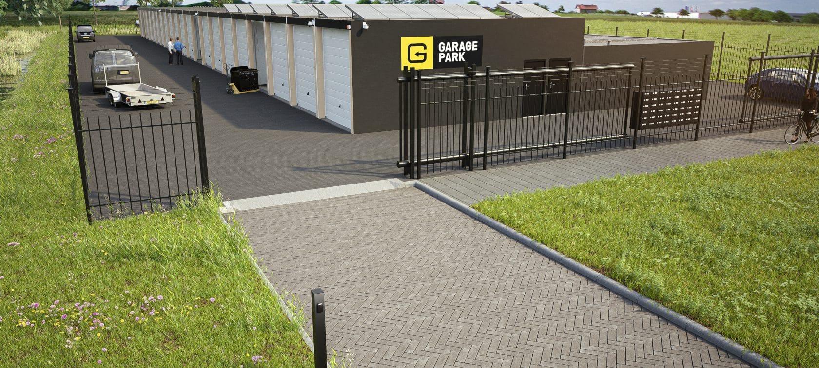 GaragePark Dronte - garageboxen voor opslag en werkruimte