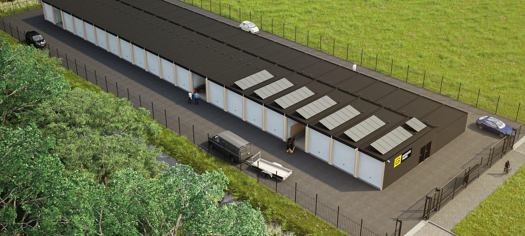 GaragePark Dronte - garageboxen voor opslag en werkruimte 2