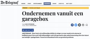 GaragePark in het nieuws