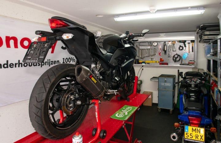 Motor werkruimte garagebox