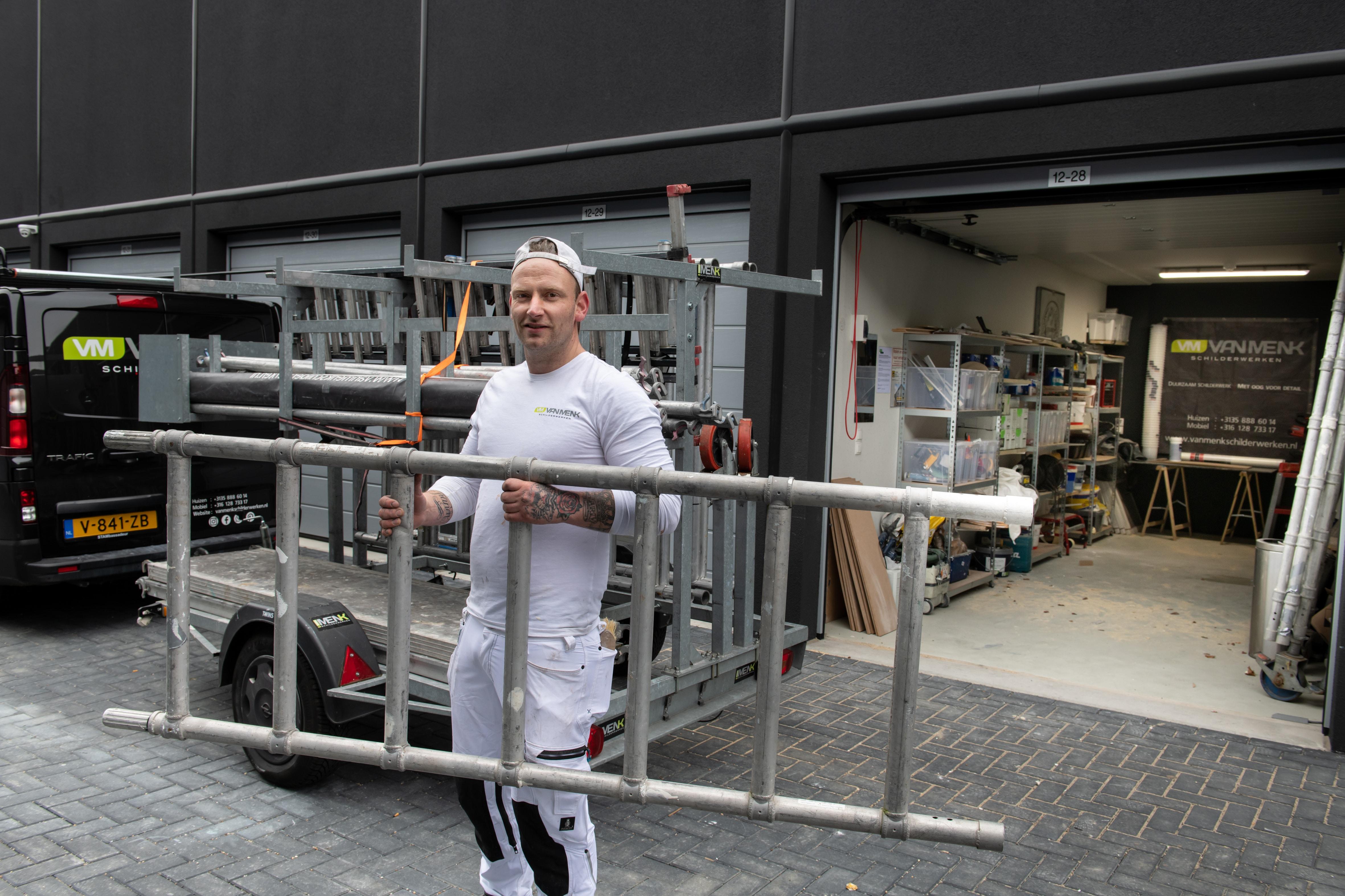 Schilderbedrijf - Frank van Menk